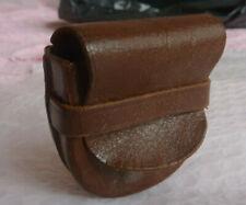 Rolleiflex lens hood leather case