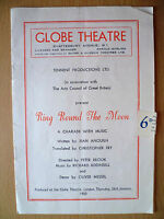 GLOBE THEATRE PROGRAMME 1950- RING ROUND THE MOON by Jean Anouilh