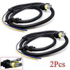 2 x ABS Wheel Speed Sensor Wire Harness For 2004 2005 2006 Pontiac Montana
