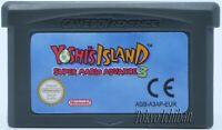 Jeu Super Mario Advance 3 Yoshi's Island - Nintendo Game boy Advance GBA SP DS