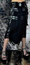 Cryoflesh Rivethead Cyber Goth Punk Rave Industrial Apocalyptic Skirt
