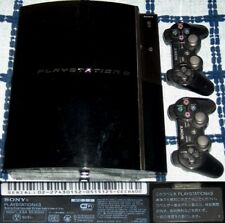 PLAYSTATION 3 PS3 JAPAN CECHA00 60GB (2006 LAUNCH) WITH 2 CONTROLLER