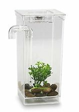 My Fun Fish Tank, 4 3/4 x 6 x 10-Inch Aquarium Self-Cleaning Plastic Betta Gifts