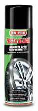 FAST & BLACK NERO GOMME LUCIDANTE GOMME AUTO SPRAY MA FRA MAFRA 500 ML