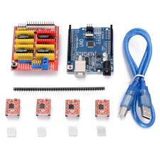 CNC Shield V3.0 + UNO R3 Board +  A4988 Driver For Arduino 3D Printer Module Kit