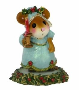 WEE FOREST FOLK A CANDLELIGHT WELCOME CHRISTMAS MOUSE M-405A