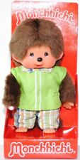 Monchhichi 222860 Green Boy, 20 cm, Sekiguchi