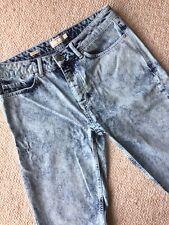 Topman Denim Skinny Shorts Size 32