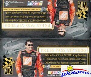 2006 Press Pass Nascar Racing VIP 24 Pack Factory Sealed Retail Box-120 Cards!