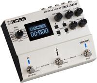 Boss DD-500 Delay Guitar Effect Pedal!  DD500