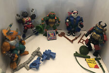 Lot Of 5 Teenage Mutant Ninja Turtles Figures!!
