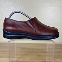 Footprints By Birkenstock Clogs Slip On Womens Size 40 / 10 Brown Leather
