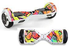 Graffiti Colours Sticker/Skin Hoverboard / Balance Board Hov24