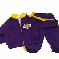 Vintage VTG 1980s LA Lakers 18 Months MOs Tracksuit Baby Basketball Track Suit