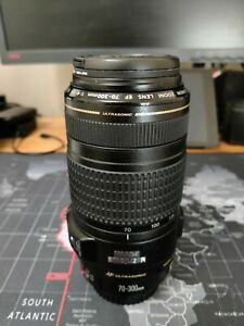 Canon EF 70-300mm F/4-5.6 IS USM Lens - in box