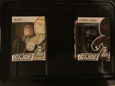 2008 Hasbro Mighty Muggs GI Joe Ninja SNAKE EYES And Duke!