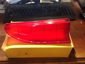 1960 OLDSMOBILE 88 98 LH STOP TAIL LAMP LENS. OLDS EIGHTY EIGHT NOS NEW IN BOX