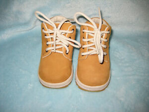Boys Toddler Tan Suede Nike ACG Boots-Size 3C. Excellent Condition - Used Once