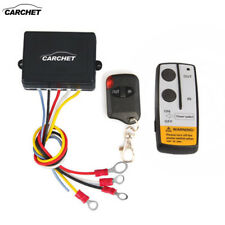 12V Electric Wireless Winch Remote Control Switch Kit for Truck Jeep ATV SUV