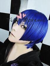 Uta no Prince-sama Masato Hijirikawa blue short costumes Hair Party Wig Cosplay
