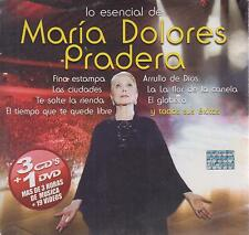 CD - Maria Dolores Pradera NEW Lo Esencial De 3 CD/DVD - FAST SHIPPING !