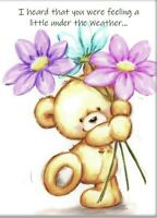 Get Well Friend A5 Card Speedy Recovery Thinking Of You Love & Support