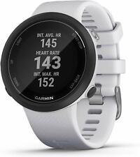 Garmin Swim 2 advanced swimming GPS smartwatch color whitestone