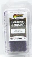 Warlord Games WGS-TUF-06 Heather Tufts (Battlefields & Basing) Purple Plants NIB