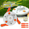 Grass Trimmer Brush Cutter Head Steel Garden Dual Use Tools Strimmer Mower NEW