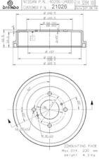 Brake Drum-OE Replacement Brembo 21026