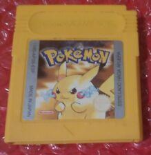 Pokemon Edicion Amarillo Nintendo Game Boy PAL ESP GB Color