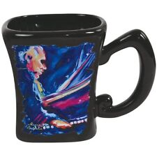 Marcia Baldwin Ceramic Coffee Mug with Jazz Blues Piano Musician 14 oz