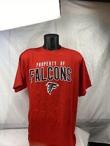 Atlanta Falcons  Reebok Red  T-Shirt Adult Large