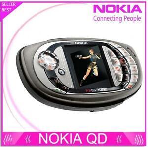 "Unlocked Nokia N-gage QD Game mobile phone 2.1"" bluetooth multilingual Original"