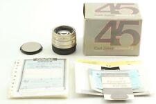 """"""" MINT in BOX """" Contax Zeiss G Planar 45mm f/2 Lens for G1, G2 From JAPAN"""