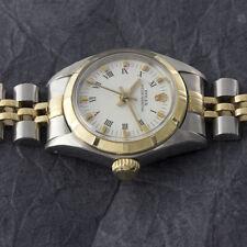 Rolex Oyster Perpetual Lady Stahl / Gold Automatik Damenuhr 6723 VP: 6950,- Euro