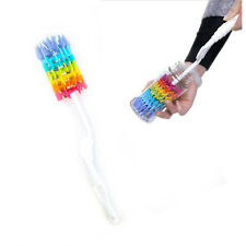 Durable Silicone Bottle Brush Cleaner Baby Milk Cleaning Soft Clean Brusher New