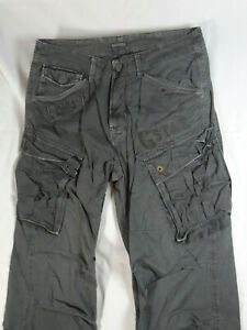 G-Star Raw Co Rovic Loose W32/L32 in dunkelgrau dark grey Army Pant