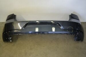 MK7.5 VW GTI Golf Rear Bumper Cover Panel Dark Iron Blue Genuine Oem 2018-2019
