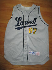 1998 Stall & Dean LOWELL No 87 Baseball Game Used (Size 44) Sleeve Less Jersey