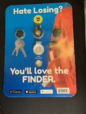 2-pk Pebblebee Key Finder 200ft App Controlled Bluetooth GPS Tracking Key Chains