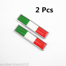 2 Pcs Italian National Flag Motorcycle Fuel Cap 3M Stickers For Kawasaki Suzuki