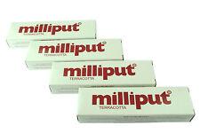 4 confezioni TERRACOTTA Milliput EPOSSIDICA PUTTY Modellazione Filler Riparazioni in ceramica x1016c