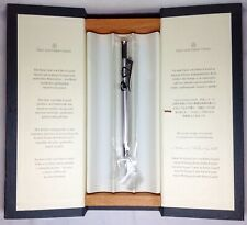 Graf Von Faber-Castell Guilloche Rhodium Propelling Pencil New In Box Product