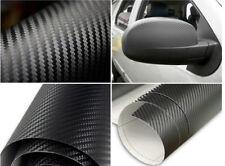 1x 3D Waterproof Carbon Fiber Vinyl Car Wrap Sheet Roll Film Sticker Decal Paper