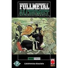 FULLMETAL ALCHEMIST 12 RISTAMPA - PLANET MANGA PANINI - NUOVO