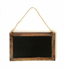 Rustic Chalk Board Vintage Wooden Blackboard Shabby Message Memo Wedding Sign
