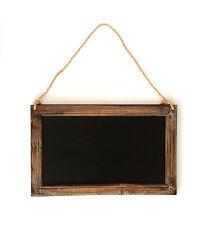 Rustic Chalk Board Vintage Wooden Blackboard Shabby Message Memo Wedding Sign