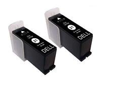 2 NO OEM para Dell P513W P713W V313 V313W V515W V715W Cartucho de Tinta Negra