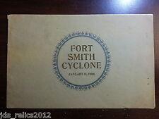 1898 FORT SMITH Arkansas Original TORNADO Book Photos High School VERY RARE!!